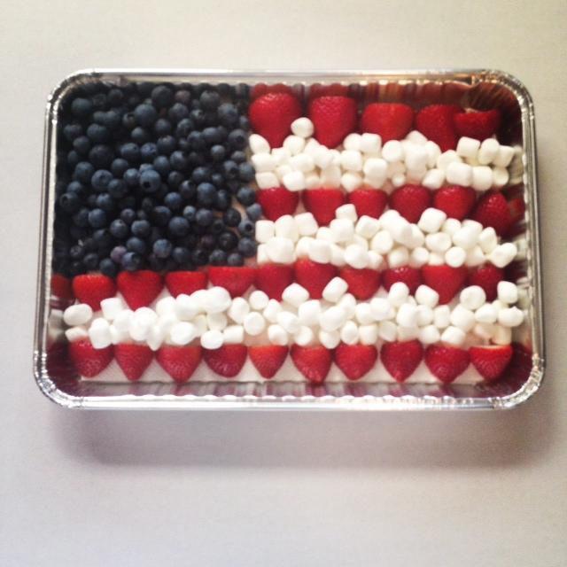 flag dessert